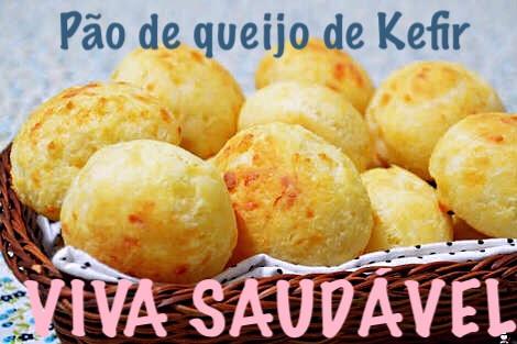 Pão de queijo com  Kefir