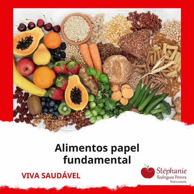 Alimentos papel fundamental