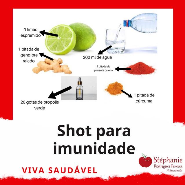 SHOT DE IMUNIDADE