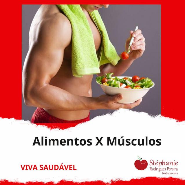 Alimentos que ajudam a construir os músculos