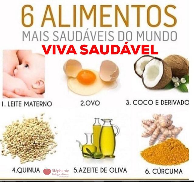 6 melhores alimentos do mundo para a saúde