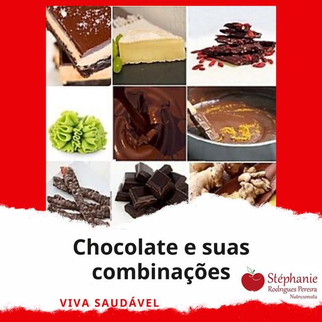Chocolate e suas combinações