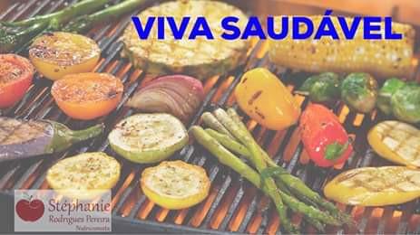 Churrasco com legumes