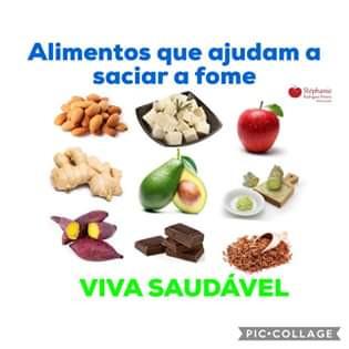 Alimentos que ajudam a saciar a fome