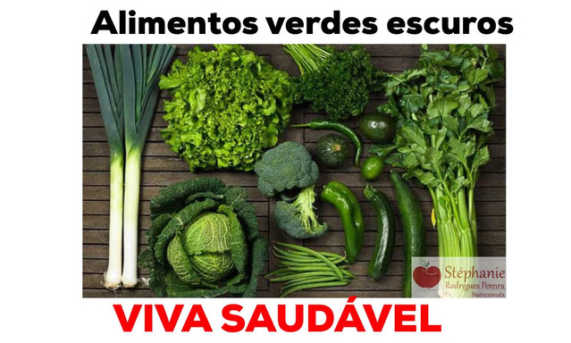 Alimentos verdes escuros