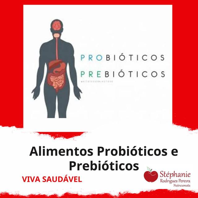 Probióticos X Prebióticos