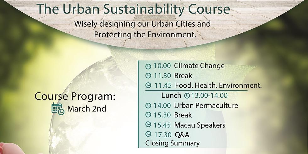 Curso sobre Sustentabilidade Urbana