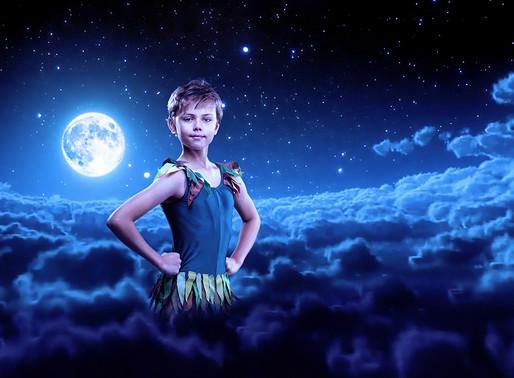 Peter Pan blended image