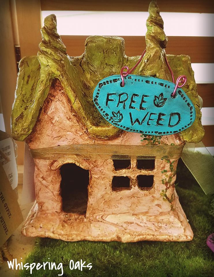 Clay Fairy House