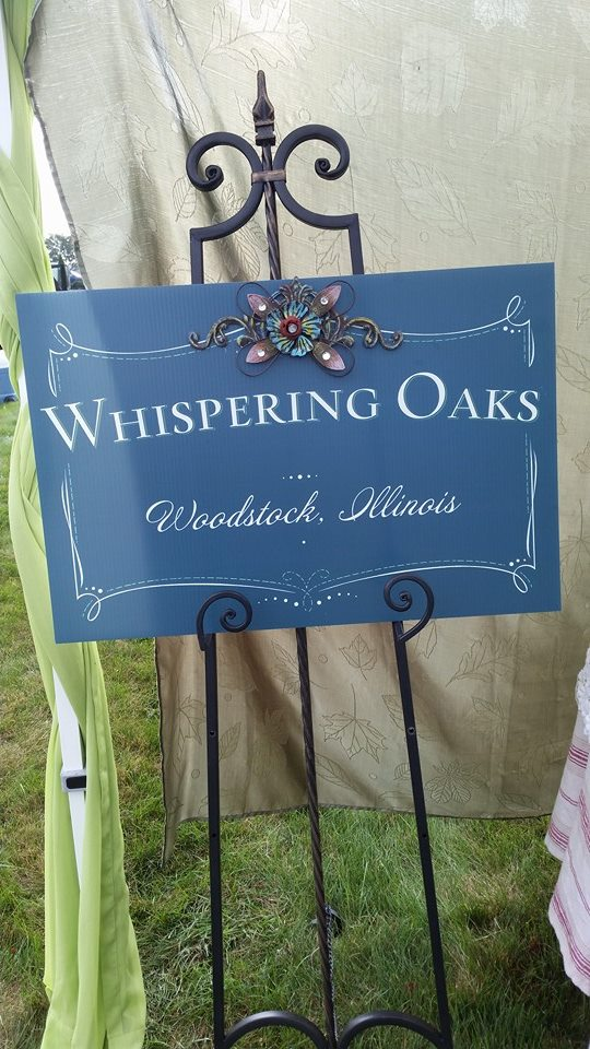 Tent Sign