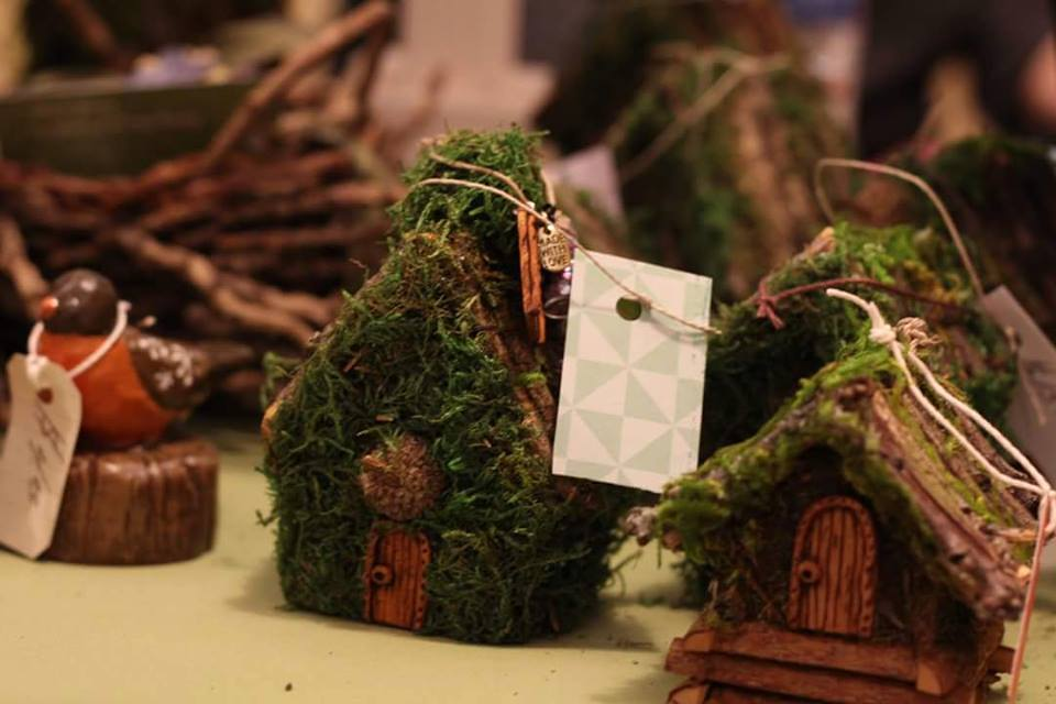 Small Moss Fairy Homes