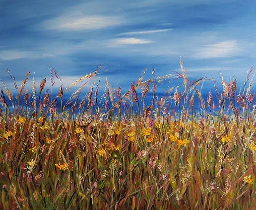 Sunny Day at The North Coast by Jill Smyth