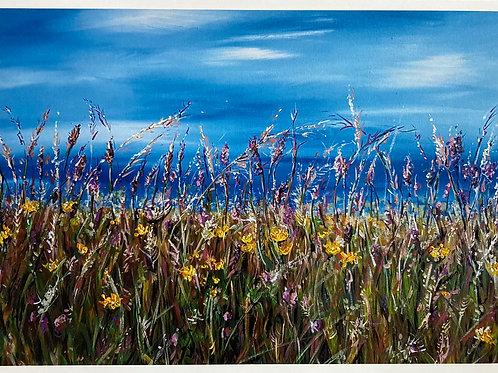 Sunny Day at The North Coast A4 Loose Print