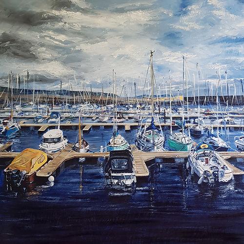 Bangor Marina by Jill Smyth