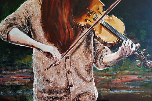 The Fiddler A3 Loose Print