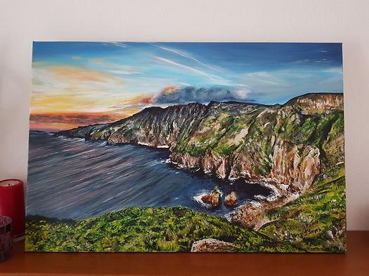 Slieve League Cliffs by Jill Smyth