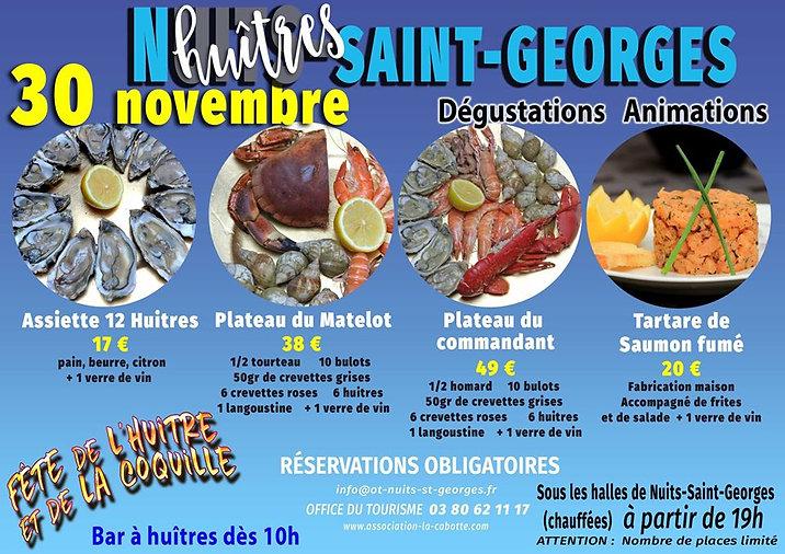 Fête de l'Huitre et de la Coquille Nuits St Georges