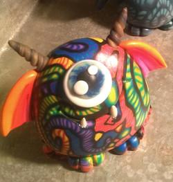 Rainbow Mosaic Monster