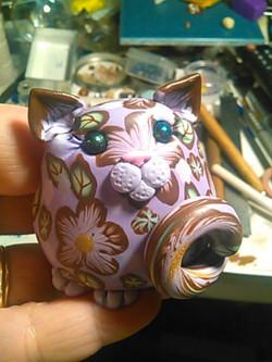 Lavender/Brown Kitty