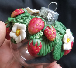 Strawberry Bauble (2)
