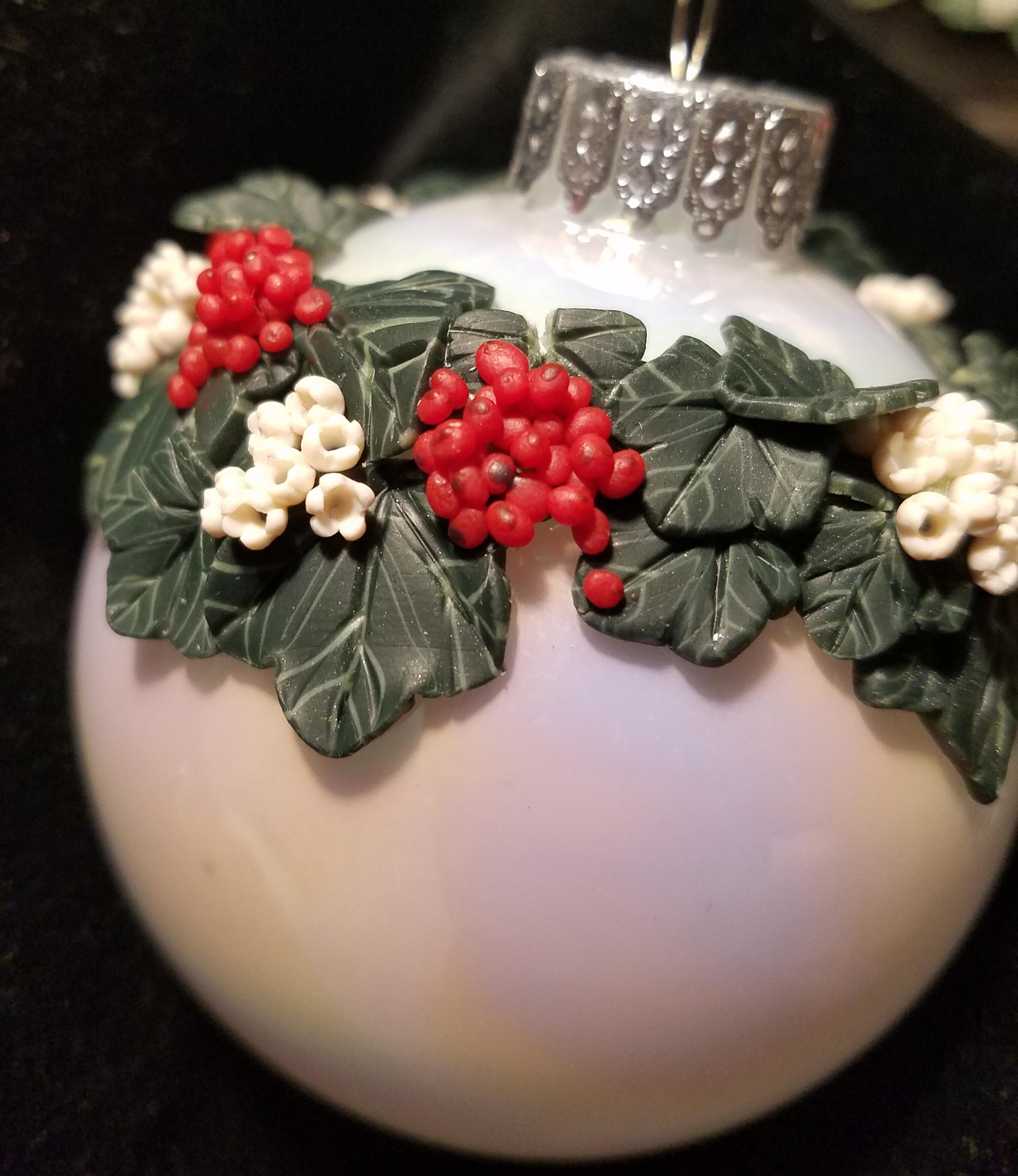 Guelder Rose on Iridescent White