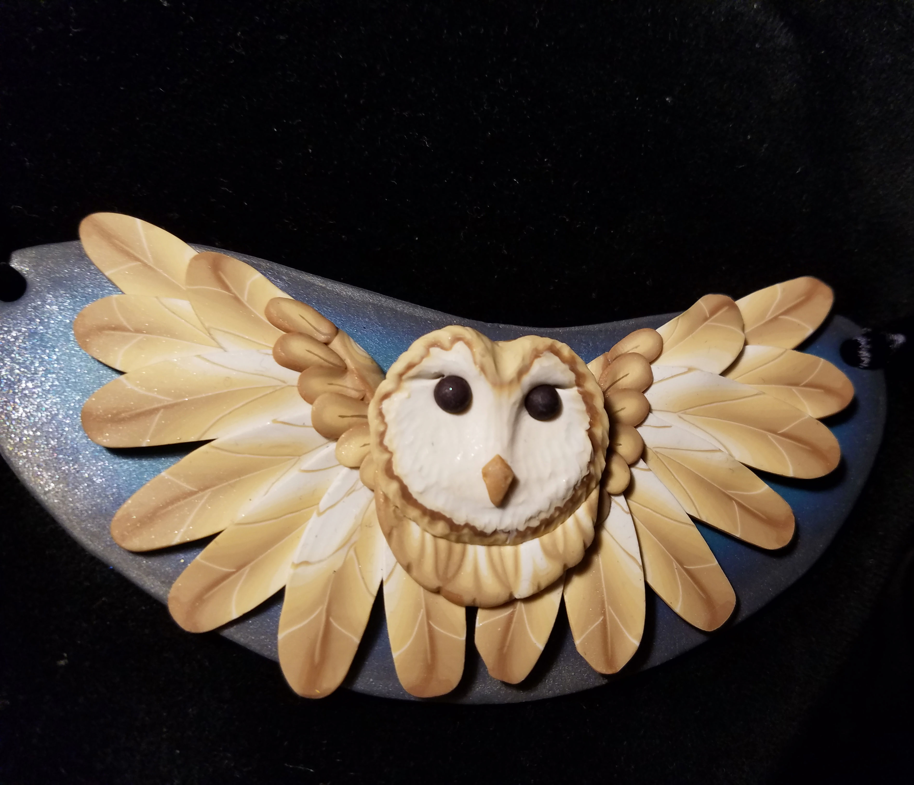 Barn Owl Statement Necklace