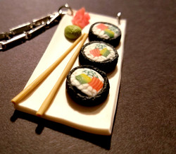Sushi Platter Necklace