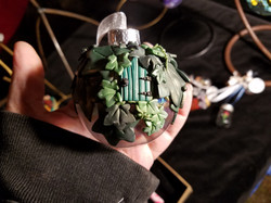 Ivy-Covered Fairy House Bauble.