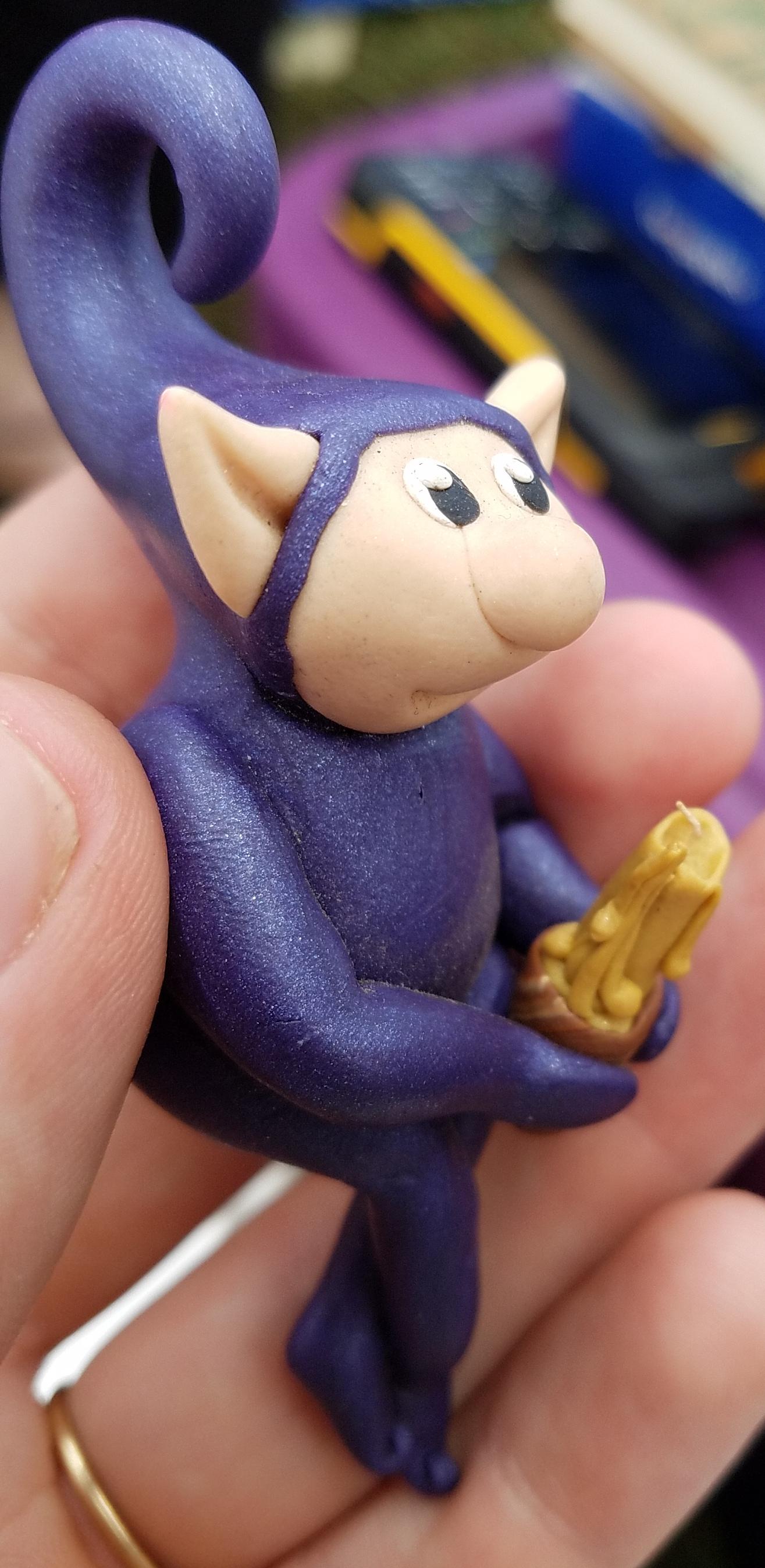 Purple Candle Widget