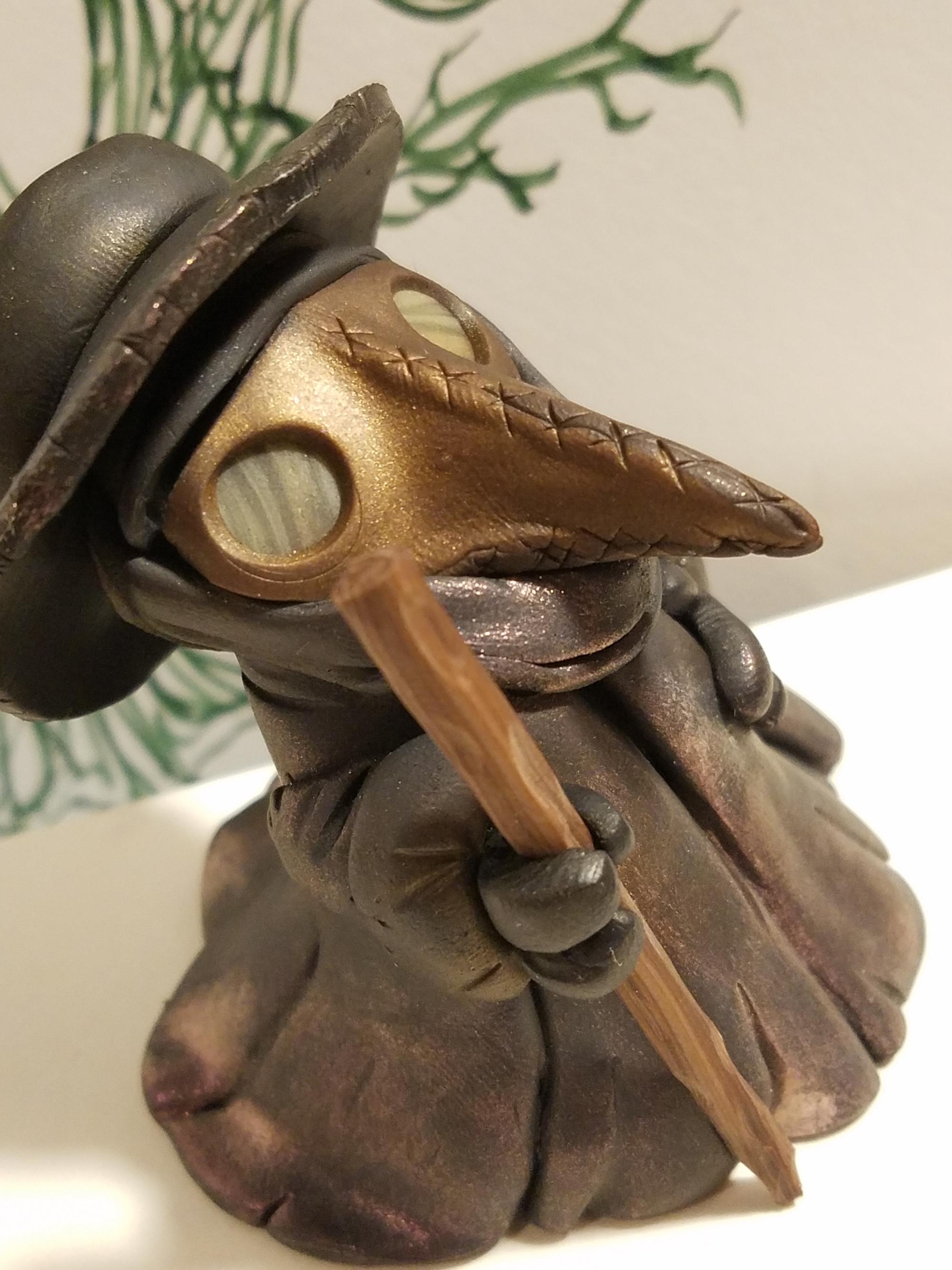 Plague Doctor -Krahe