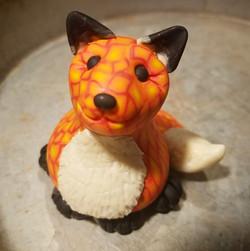 Fire Mosaic Fox
