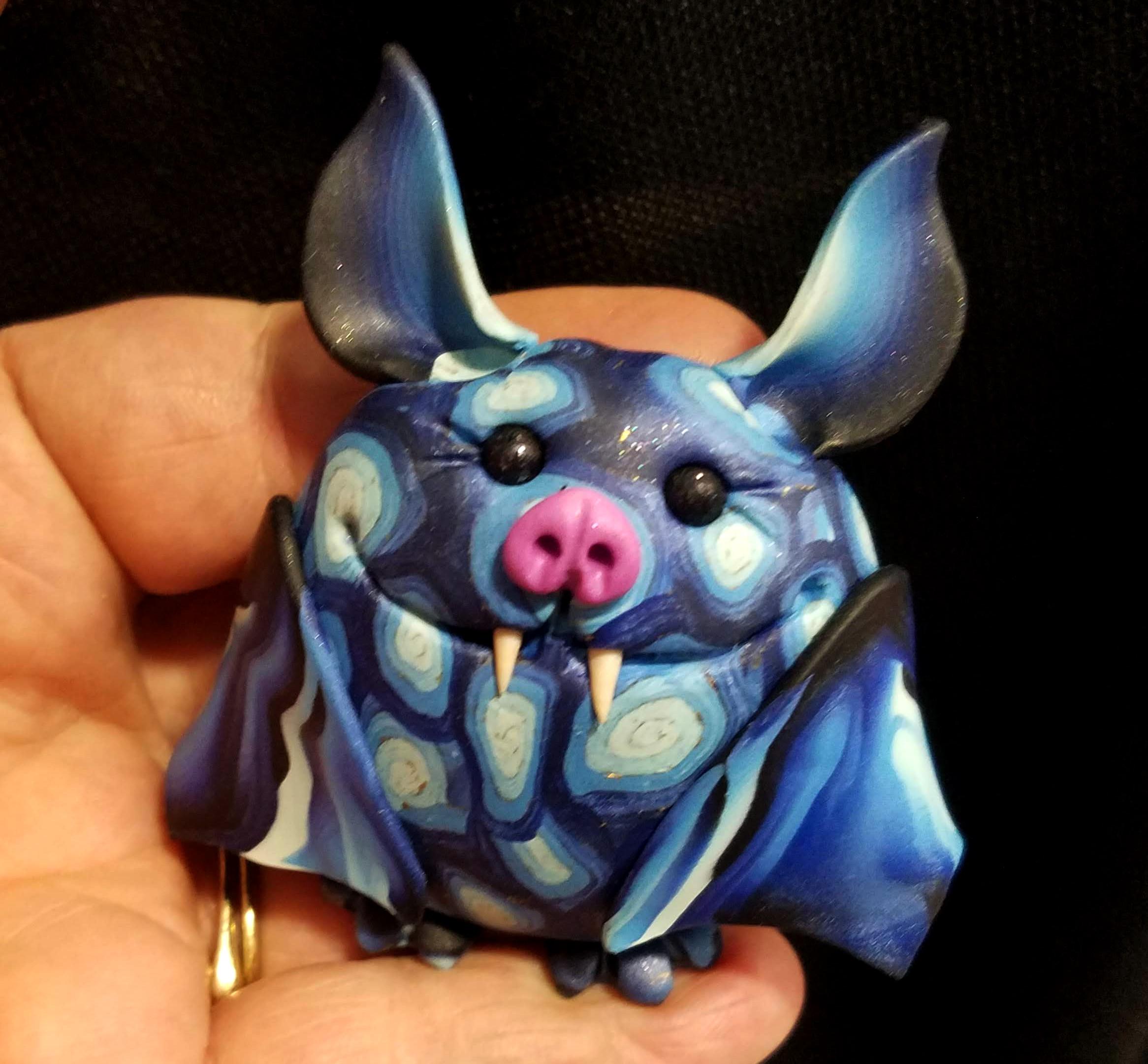 Blue Spiral Bat
