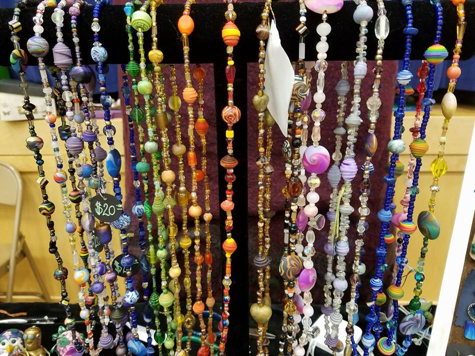 """Crazy Beads"" Necklaces"