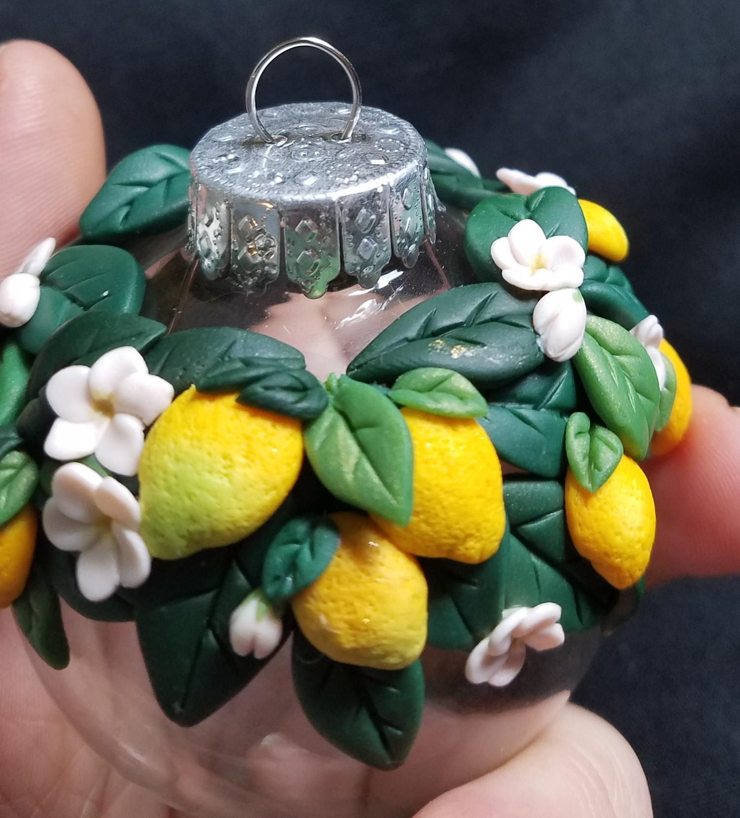 Lemon Blossom Bauble