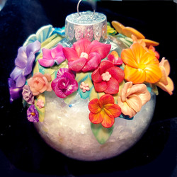 Floral Rainbow Glitter (2)