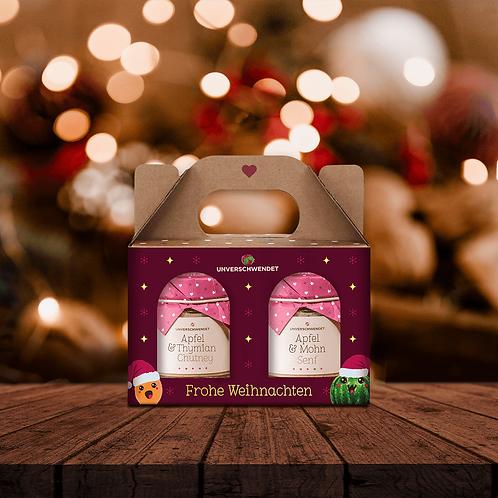 Weihnachts-Apfel Duett (in Geschenkkarton)