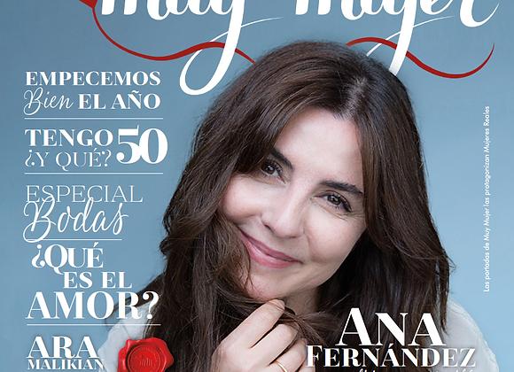Inscripción de un año a la revista Muy Mujer