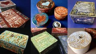 Boites céramique