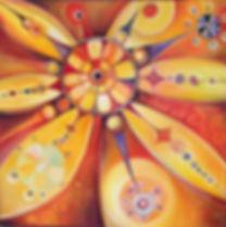 Huile sur toile 100 x 100 cm