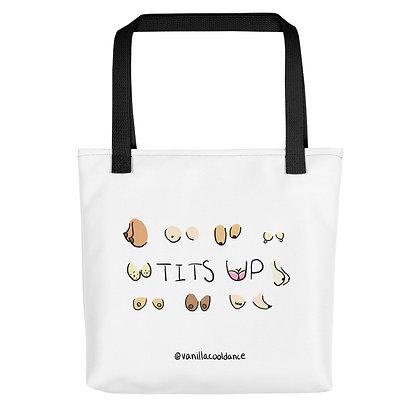 Tits Up Canvas Bag