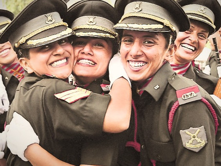 Patriarchy on the Frontline (Permanent Commission for women in the Armed Forces)