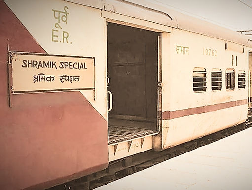 Central Government says: No Sharmik trains getting lost and there are special arrangement made for passengers.