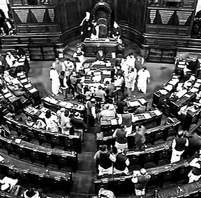 Rajya Sabha passes bill to temporarily suspend initiation of corporate insolvency resolution process under IBC.