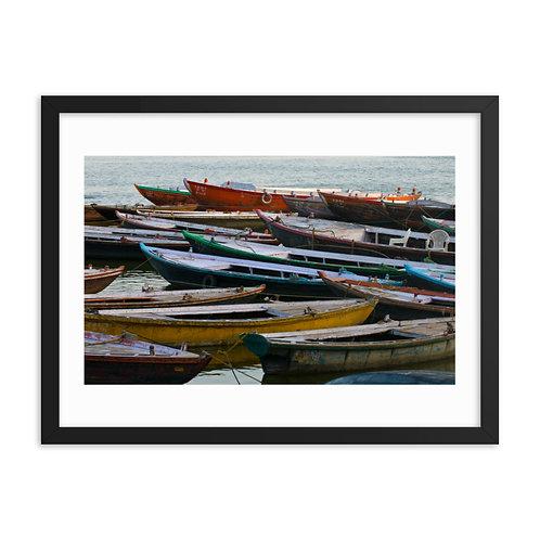 River boats, Varanasi, India