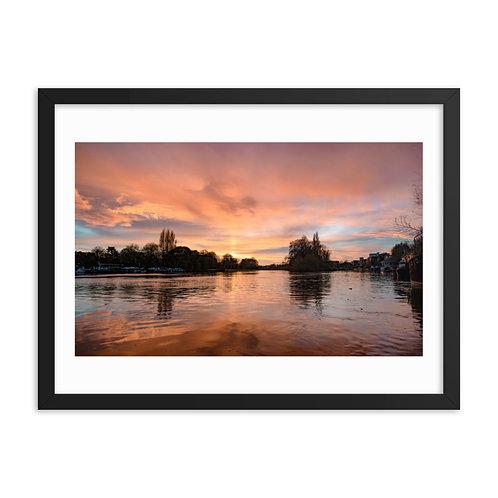 Sunset from Kew Bridge