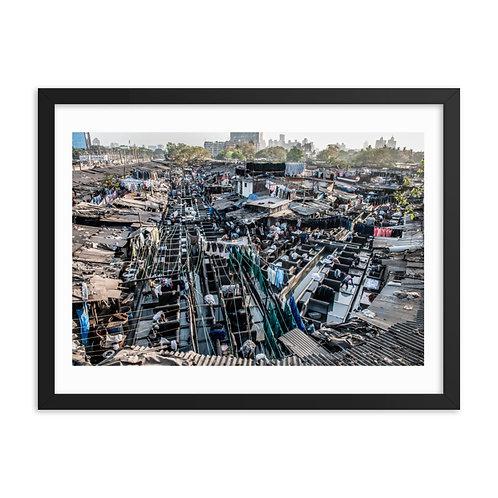 Dhobi ghat, Bombay, India