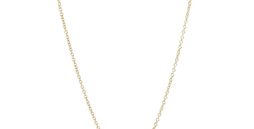 Zoë Chicco 14K Floating Diamond Necklace