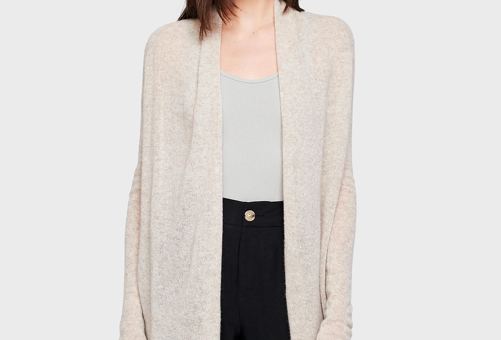 White and Warren Trapeze Cardigan