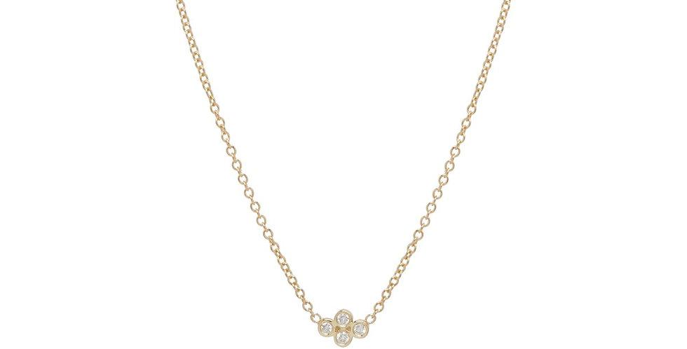 Zoë Chicco 14K Diamond Quad Necklace