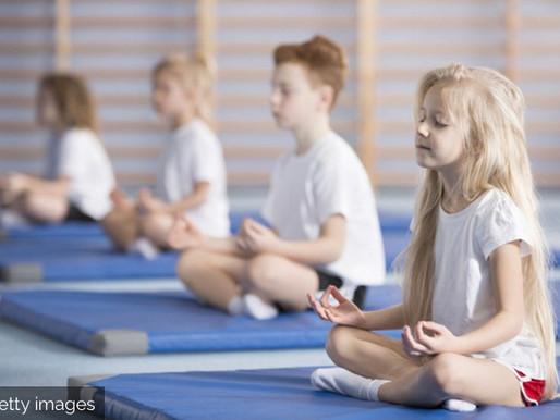 La méditation en pleine conscience à l'école